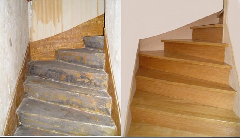 habillage d escalier beton gallery of maytop tiptop habitat habillage duescalier rnovation. Black Bedroom Furniture Sets. Home Design Ideas