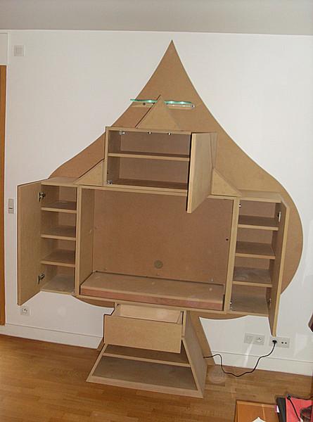 Meubles sur mesure - meubles contemporains - JLM, menuiserie et ...
