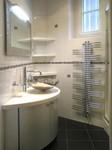 meuble de salle de bains sur mesureplacage métal