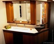 meuble de salle de bains sur mesure en bois