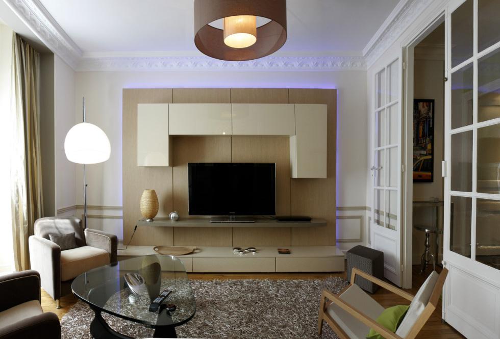 meuble contemporain sur mesure